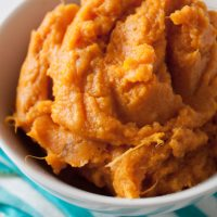 Perfect Mashed Sweet Potatoes