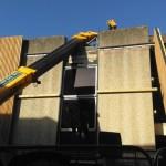 Crane Crash in Andover Chantry Centre