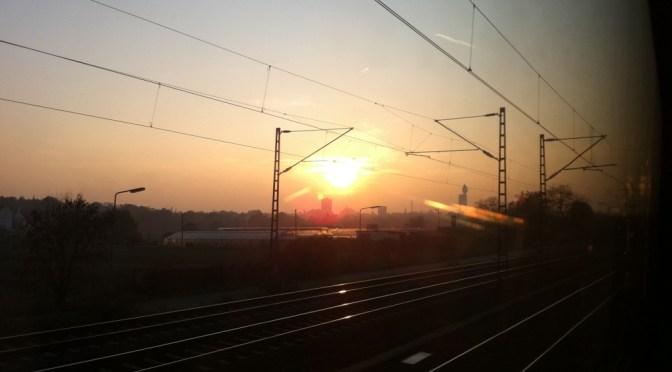 Ein schöner Blick auf Frankfurt