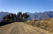 Верхняя дорога через каньон. Высота 4200 метров.