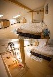 Наш двухэтажный апартамент, снятый на время пребывания в Праге.