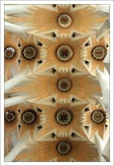 Цветы? Звезды? Ледяные узоры? Sagrada Familia.