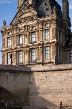 Мост Руаяль и Павильон Флора (часть Лувра).
