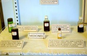 Древние лекарственные средства в музее Chapin Mesa Museum.