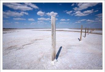 Баскунчак - место, «где ломают соль чистую, как лед».