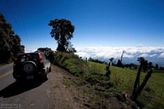 Дорога над облаками.