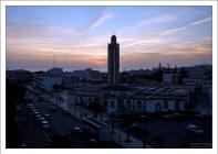 Закат из центра Агадира.