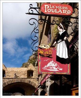 "Ресторан ""У мамаши Пуляр"" (La Mere Poulard)."