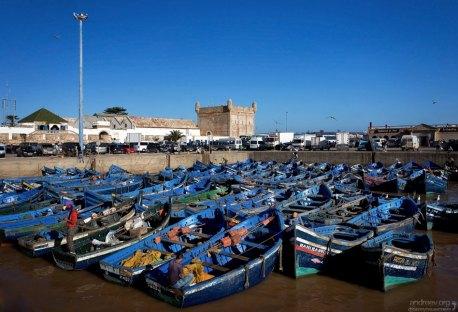 Гавань города конкурирует по количеству улова с Агадиром.