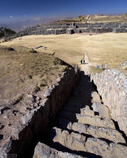 На строительство Саксайуамана у инков ушло около ста лет.
