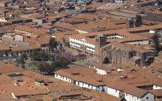 Коричнево-красные крыши Куско.