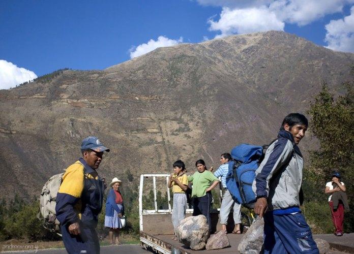 Ни одна машина не проедет. Пешком - можно! Священная долина Инков.