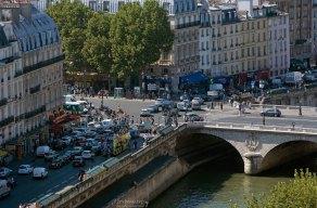 Парижский трафик.