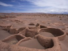 Руины деревни Tulor. Им около 3 тысяч лет.