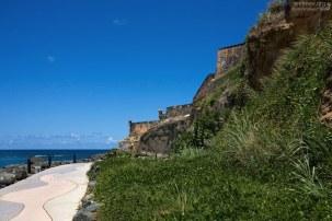 На подступах к крепости El Morro. Сан-Хуан.