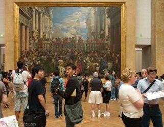 """""""Брак в Кане Галилейской"""" Паоло Веронезе, 16-й век. Лувр."""