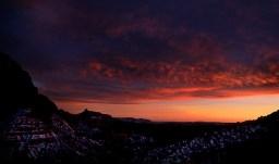 Kolob canyon viewpoint, ночь.