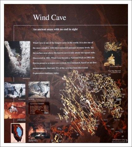 Схема Пещеры Ветра.