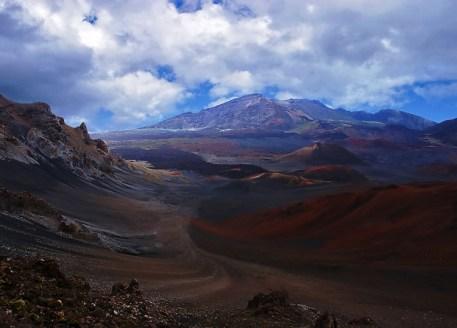 Кратер вулкана Халеакала. Haleakala National Park.