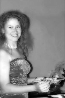 "Катя в японском ресторане ""Hana Gion"" в отеле Ренессанс."