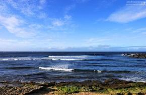 Пляж Ho'okipa на северной части острова.