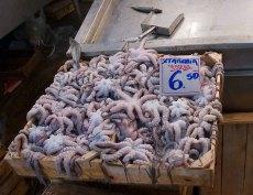 Свежие ктулхи :) Рыбный рынок.