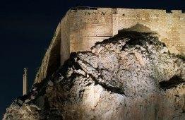 Неприступные стены Акрополя.