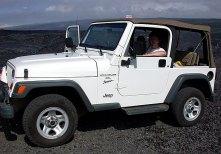 На месте бывшей деревни Kalapana, стертой с лица земли лавовым потоком 1997 года. Hawai'i Volcanoes National Park.