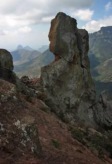 Наверху в горах Chisos Mountains. Тропа Lost mine trail.
