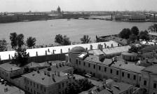 Панорама с колокольни Петропавловского собора.