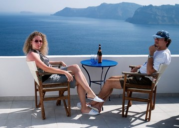 """На террасе с миллионным видом. Апартамент от гостиницы """"Delfini Villas""""."""