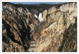 Большой каньон Йеллоустоуна - Grand Canyon of the Yellowstone.
