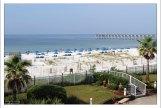 Вид из номера гостиницы на Мексиканский залив.