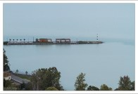 Причал на озере Балатон.
