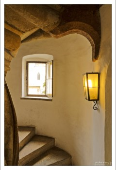 Лестничная башня в Замке Граца.