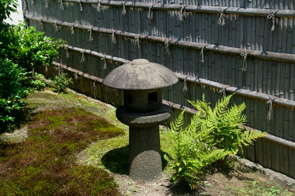 Stone lantern at Nara Park