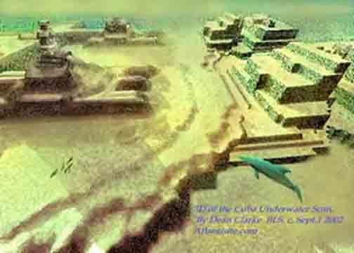 cubapy - La ciudad sumergida ¡ A 600 M DE PROFUNDIDAD ! ( 50.000 años )