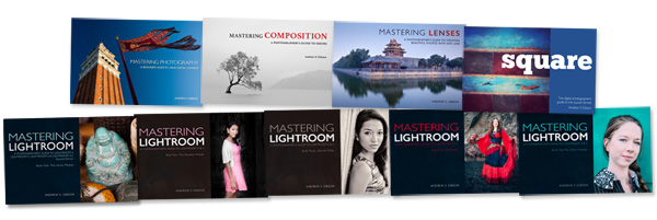 Mastering Lenses photography ebook bundles by Andrew S. Gibson
