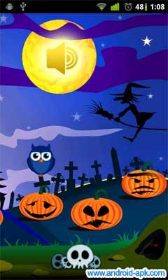 可愛的 Halloween Live Wallpaper | Android-APK