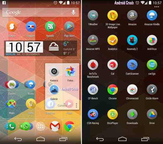 Best launcher for android Nova