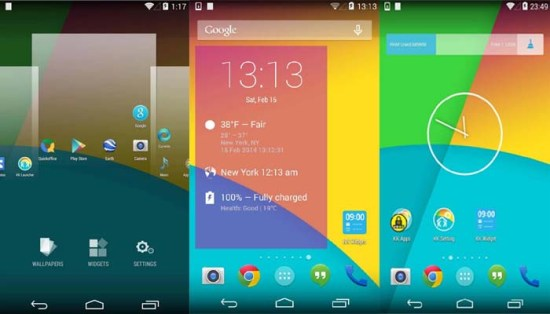 KK launcher for android