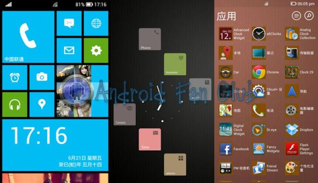 Launcher 8 (Windows Phone 8 transformation for Android)