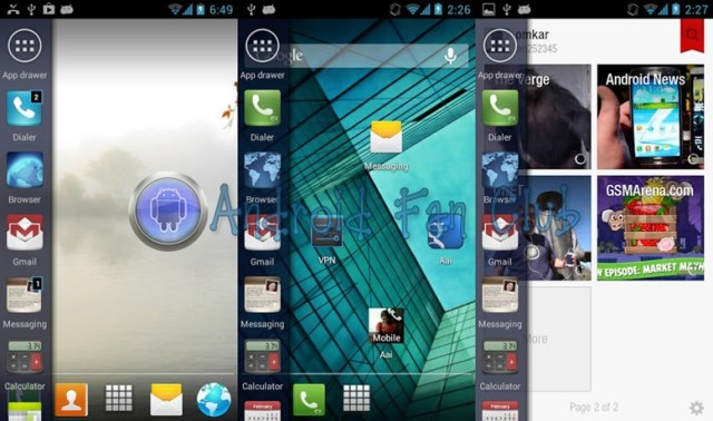 Unity Ubuntu Linux Launcher for Android smartphones & tablets