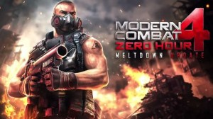 Modern Combat 4 Zero Hour Meltdown Update for Android