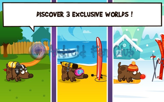 Space Dog + | Facebook Game for Android smartphones & tablets