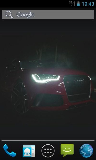 Audi RS6 Live Wallpapers Android App APK by ozhar