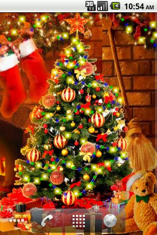 Christmas HD Live Wallpaper Android App APK by Milenita Live Wallpapers and Widgets
