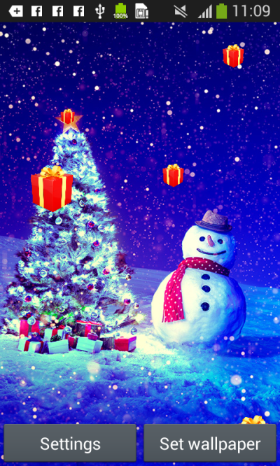 Christmas Live Wallpapers free APK android app - Android Freeware