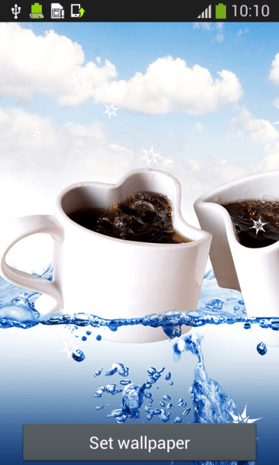 Coffee Cup Live Wallpapers Android App - Free APK by Popular Melodies