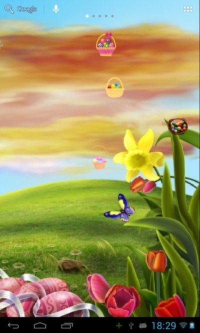 Easter Live Wallpaper Android App - Free APK by Martats